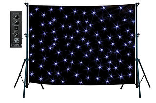 2m x 3m Star Cloth
