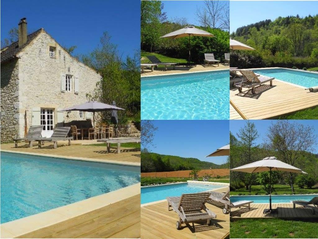 Priv zwembad moulin de lalande occitanie for Zwembad thuis prijzen