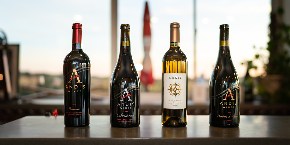 """1906 - """"Amador Uncorked"""" Winemakers Dinner featuring Andis Wines"""