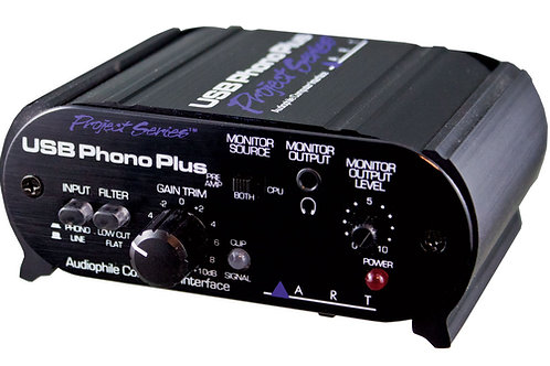 ART Phono Plus USB Soundcard