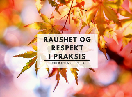 Raushet og respekt i praksis