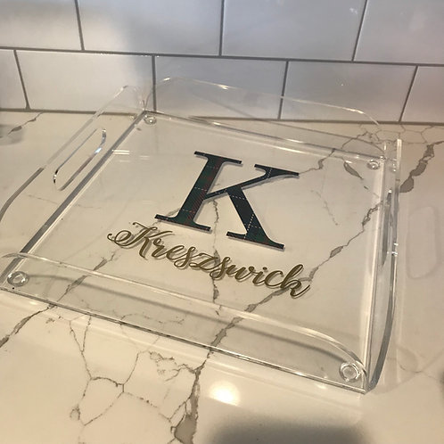 Acrylic Square Tray