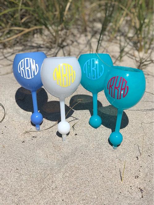 Personalized Beach Glass