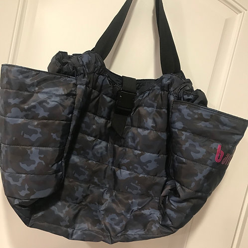 Reversible Quilted Camo Duffle