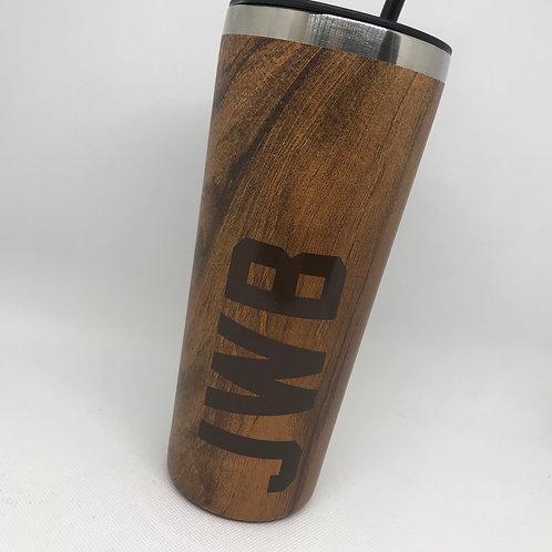 Wood grain Stainless Tumbler