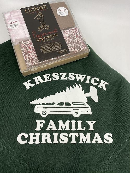 Fireside Blanket/S'mores Gift Set