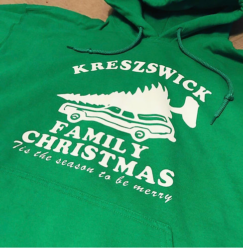 Family Christmas Sweatshirt Youth