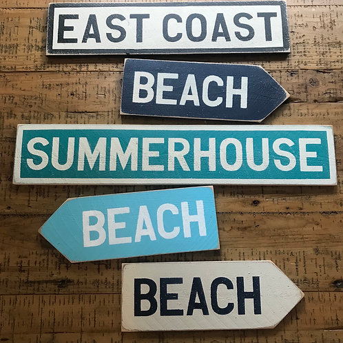 Custom name/place wood sign 13-24 letters