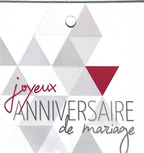 Joyeux anniversaire de mariage!