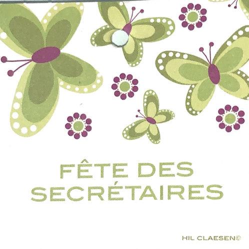 Fête des secrétaires!