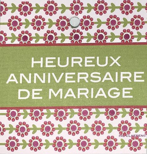 Heureux anniversaire de mariage!
