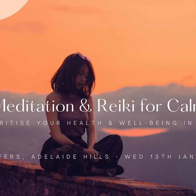 Meditation & Reiki for Calm