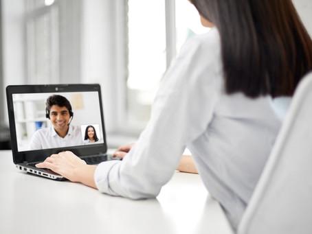 Vorstellungsgespräch online // Online job interview