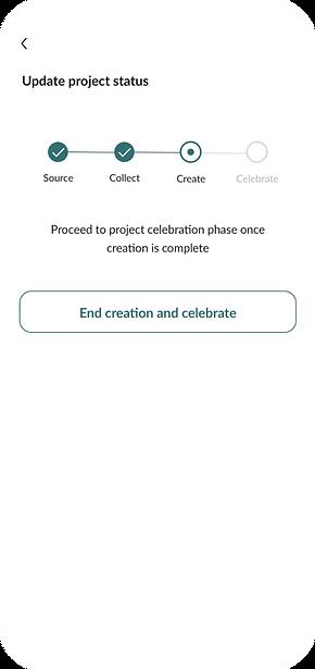 Upcircel App Celebration Page