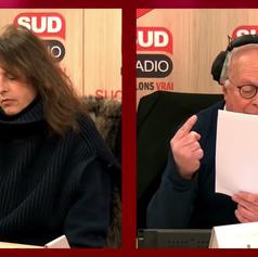 Stéphanie Bataille : « Je prends la parole pour ceux qui ne le peuvent pas » Sud Radio - 12/02/21