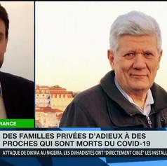 Laurent Frémont dénonce « un protocole inhumain»  dans les hôpitaux -  RT France - 2 mars 2021