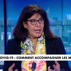 Laurence Ferrari reçoit Laurent Frémont sur CNews - 16 février 2021