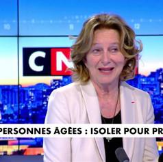 Marie de Hennezel soutient le collectif « Tenir Ta Main » sur CNews - 23 mars 2021