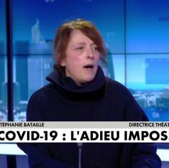 « Mon papa il marchait, il était gai et on l'a assassiné ! » Stéphanie Bataille sur CNews - 09/02/21