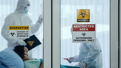 coronavirus covid 19 quarantine and brea