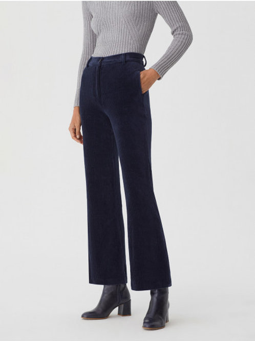 Elastic corduroy taylor pants