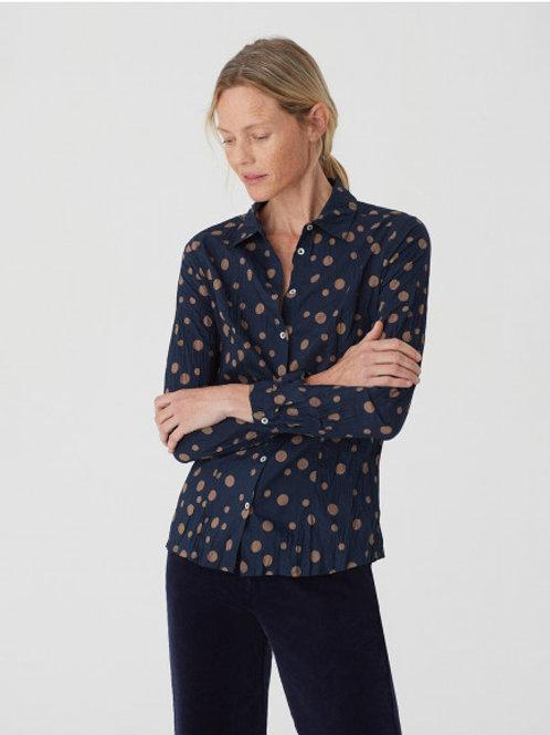 Irregular dots print #99 shirt