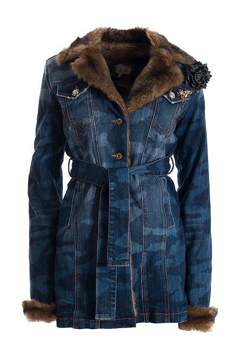 J111 DENIM COAT