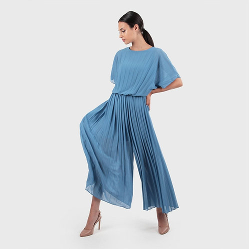 Plisse' Long Overall