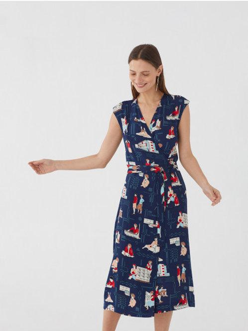 Bauhaus Women Print midi dress