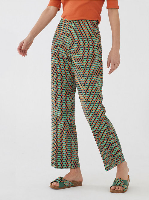Peace Dot Print culotte pant