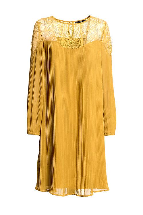 Midi Dress Sand Lime