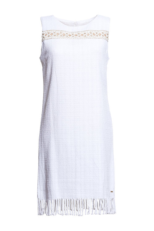 Chanell Dress White