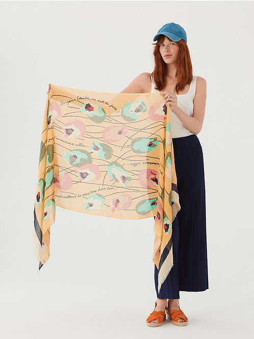 Tulip scarf
