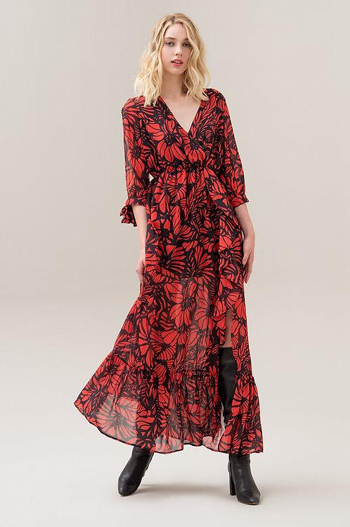 022 3/4 LONG DRESS