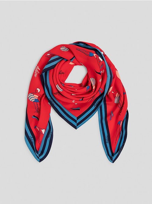 Swimmers scarf