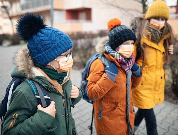 face mask | school children