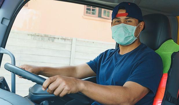 Delivery driver | truck driver| facemask | mask | HeartForm