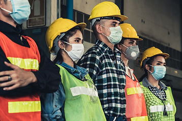 construction | warehouse | face mask