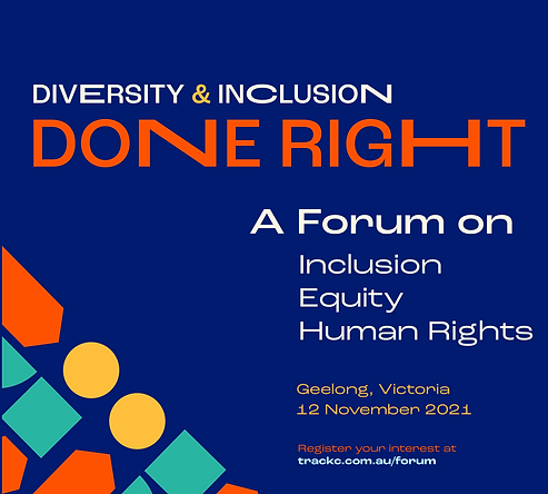 Track C Consulting came to us with a need to design their marketing collaterals for this amazing forum called Diversity & Inclusion Done Right (A forum on human rights).   The shapes and colours used represent diversity and contemporary typefaces were selected to signify looking at things with a contemporary lens.   Kubo Kreative assisted with: * Event name selection * Typographic animation * Poster and brochure design * Web design (WordPress)
