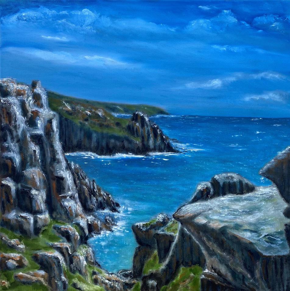 Nanjizal Cliffs at Mill Bay