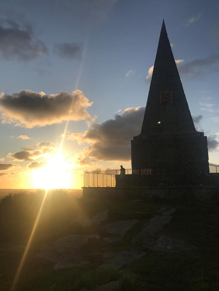 Knills Monument 07.47am, 26 September 2020