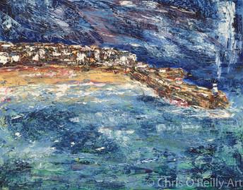 St Ives Harbour Impression