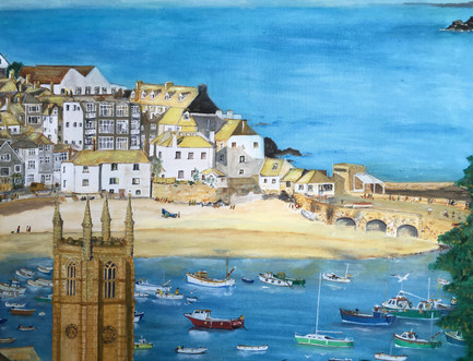 St Ives (from Coach Park)