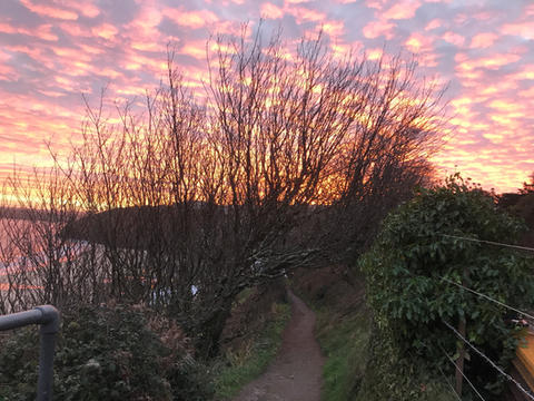 Coast Path to Carbis Bay 08.30am 9 December 2020