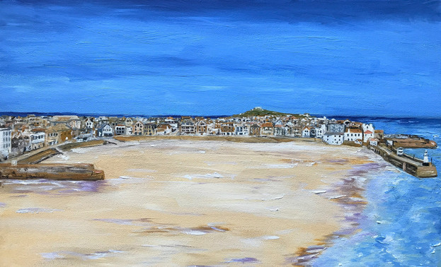 St Ives Harbour from The Malakoff 2