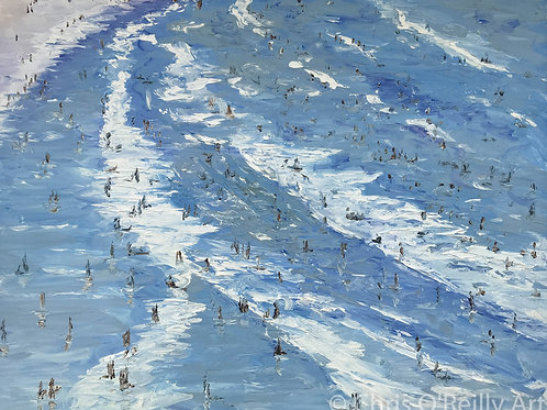 Portmeor Beach Bathers 2
