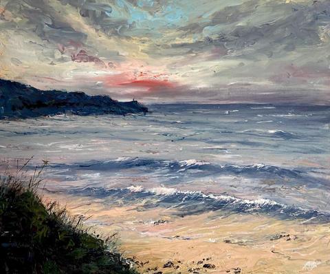 Porthmeor Sunset