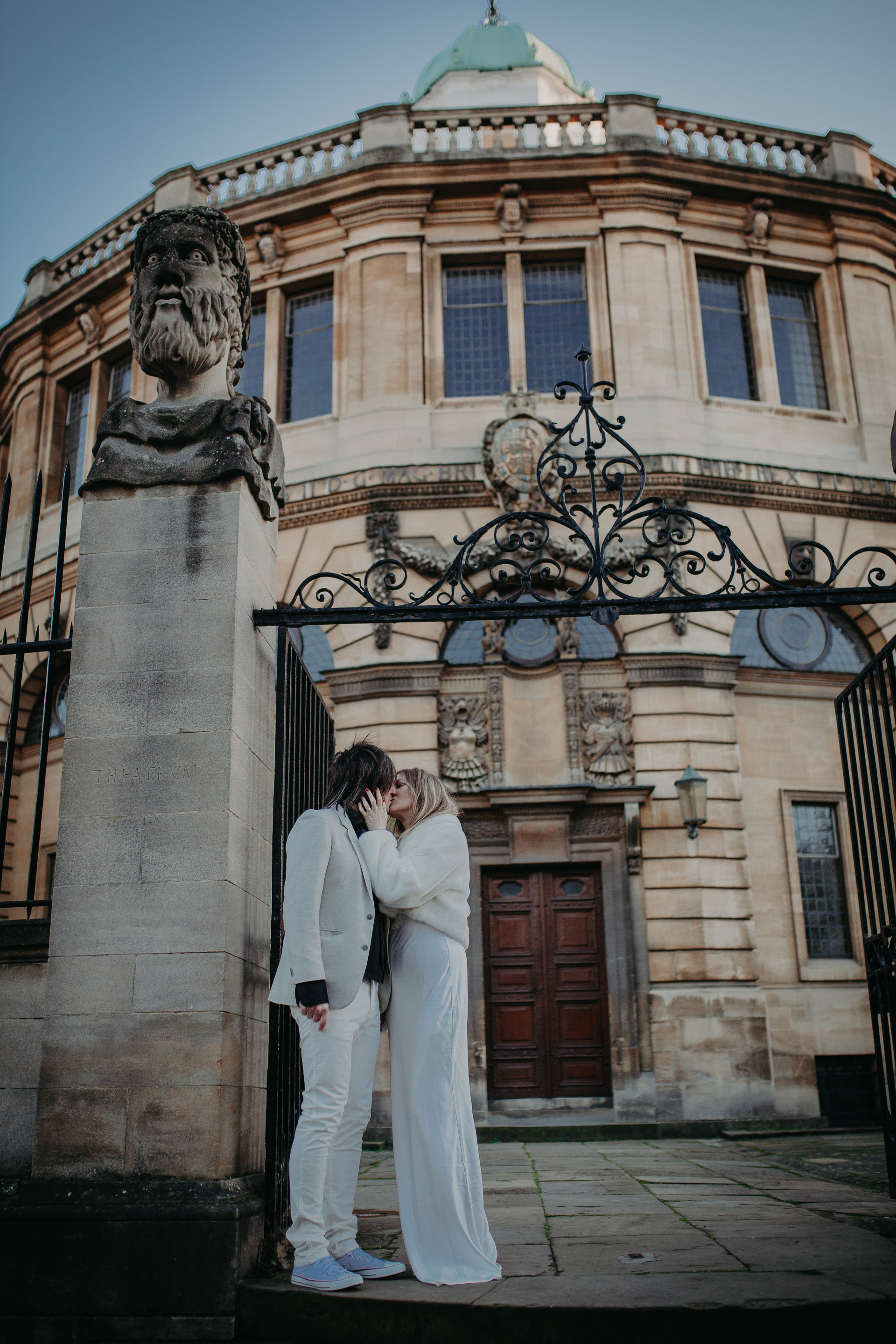 Sheldonian Theatre Oxford Wedding