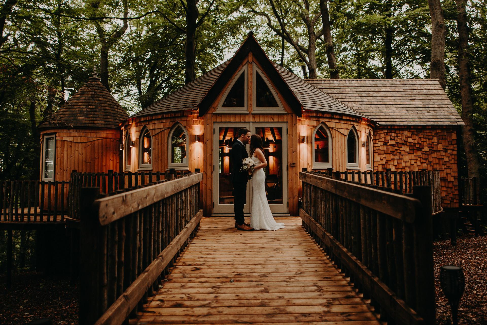 Oxfordshire Tree House Wedding