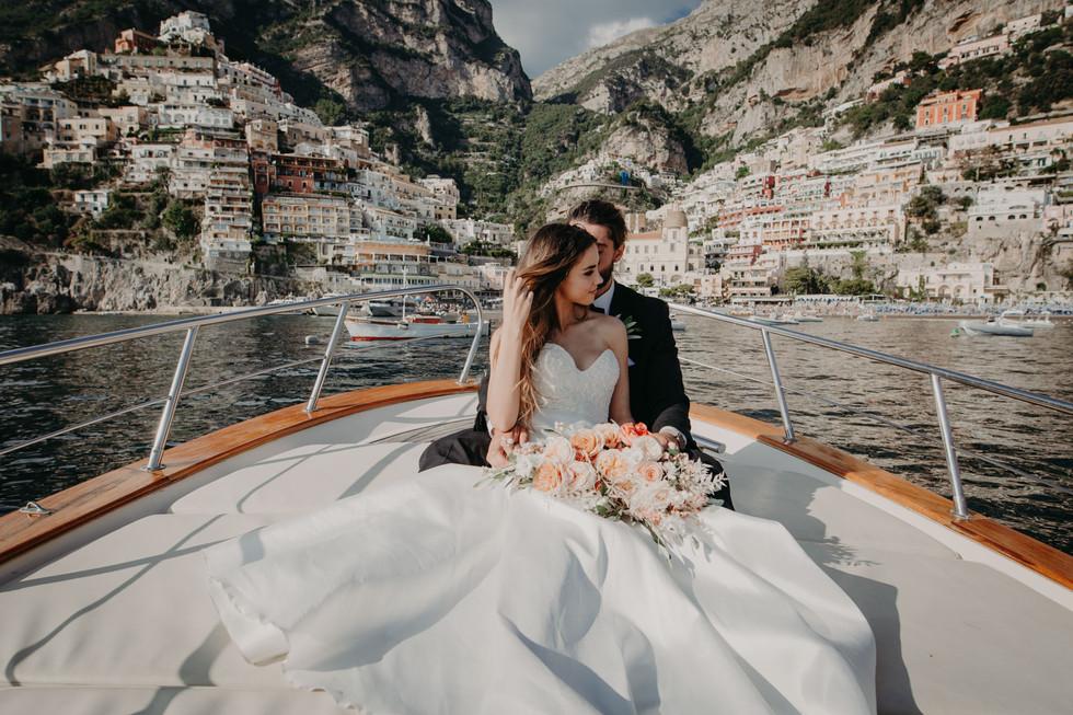 Just married elopement